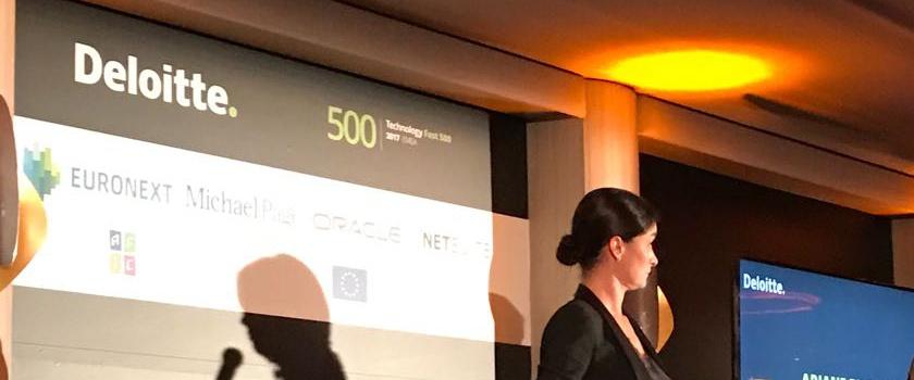 Teamleader remporte la 53ème place européenne du Fast 500 de Deloitte à Paris