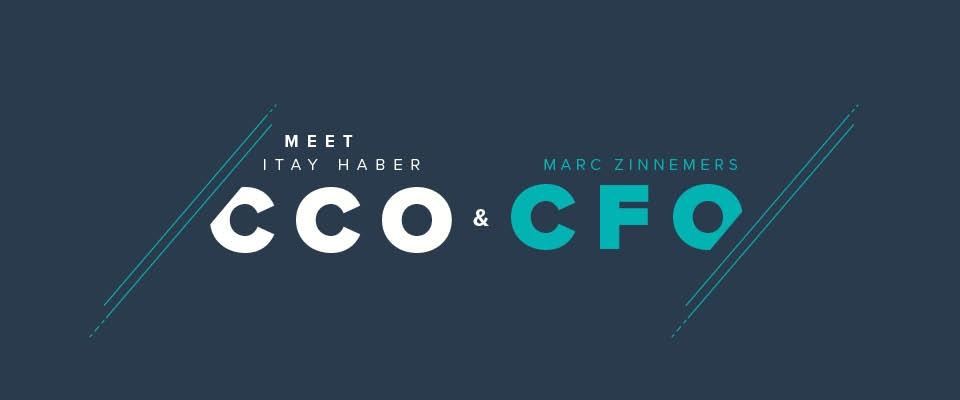 Itay Haber (CCO) et Marc Zinnemers (CFO) rejoignent l'équipe de direction de Teamleader