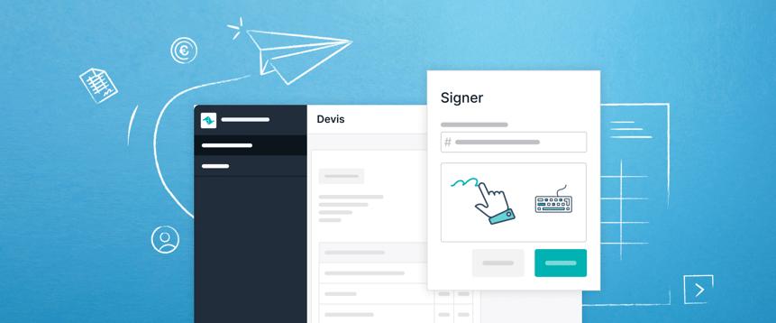 Les devis de Teamleader sont signés deux fois plus vite. Grâce à la mise à jour de Cloudsign.